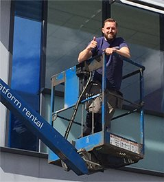 Our Professional Glaziers at Work