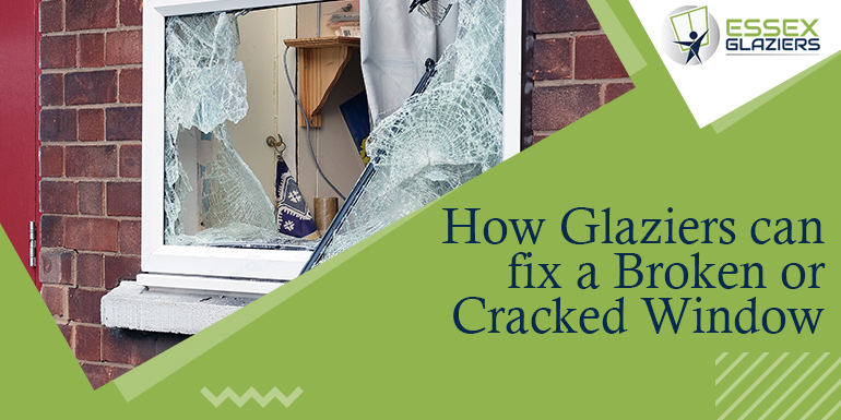 Fixing a Broken or Cracked Window Temporarily with Glaziers